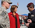 Lt. Gen. Caldwell and U.S. Senator Lisa Murkowski talk with Brig. Gen. Carmelo Burgio during a tour (4278132507).jpg