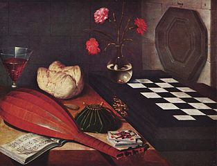Still-life with Checker