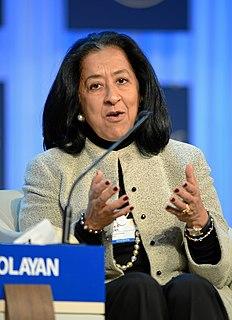Lubna Olayan Saudi business woman