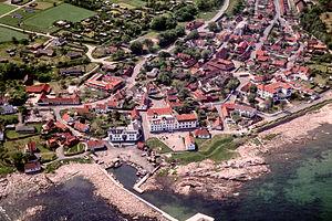 Allinge-Sandvig - Sandvig (aerial view)