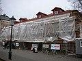 Lundquistska huset renoveras 2009.jpg