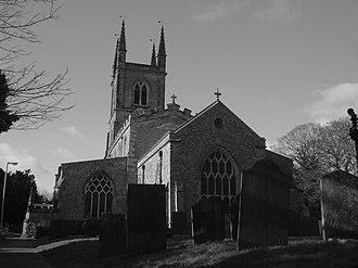Lutterworth - St Mary's Parish Church, Lutterworth