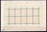 Luxembourg 1906 Mi 72 souvenir sheet of 10 (Grand Duke of Luxembourg William IV) back.jpg