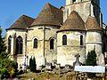 Luzarches (95), église Saint-Côme-Saint-Damien, chapelle de la Vierge, abside et absidioles.jpg