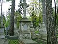 Lwow-cmentarz Lyczakowski-grob abpRomaszkana.jpg