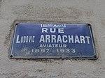 Lyon 8e - Rue Ludovic Arrachart - Plaque (mai 2019).jpg