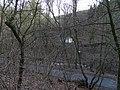 Máslovice, Dolský rybník a silnice 2428 (01).jpg