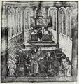 Mátyás király 1488-ban Bécsben lovaggá üti Melchior Russ svájci követet.png
