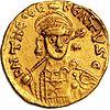 Münze ouro Solidus Theudebert I hum 534 (anverso) .jpg