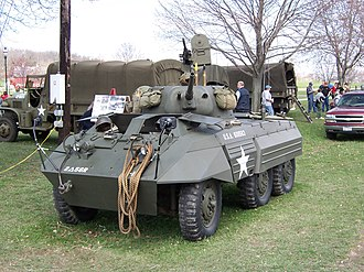 M8 Greyhound - M8 armored car