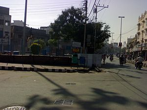 Mahatma Gandhi Road (Secunderabad) - MG Road Circle - Gandhi Statue