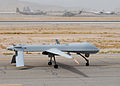 MQ-1 Predator returns from a mission.JPG