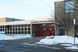 Metamora Township High School - Image: MTHS South Entrance