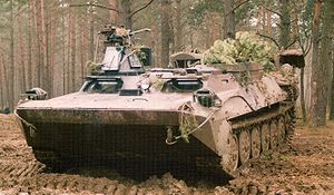 Opal (armoured personnel carrier) - MT-LB