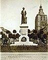 Maastricht, Markt, herdenking standbeeld J P Minckelers, 1924.jpg
