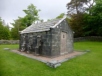 Lachlan Macquarie - Macquarie Mausoleum on the Isle of Mull in western Scotland.