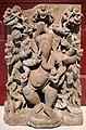 Madhya pradesh, ganesha a 20 braccia danzante, elimninatore degli ostacoli, xi secolo.jpg