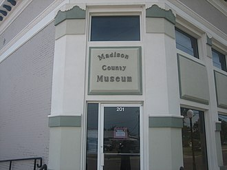 Madison County, Texas - The Madison County Museum in Madisonville