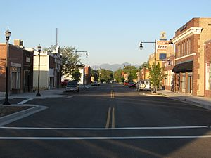 Downtown Magna (looking east on Main Street)