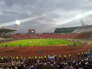 Diósgyőri VTK - Diósgyőr in the 2014 Magyar Kupa Final against Újpest FC at the Puskás Ferenc Stadion on 25 May 2014