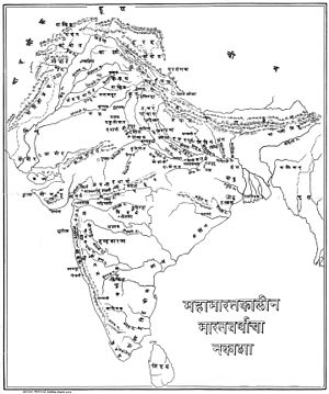 Krishna in the Mahabharata - India during the period of Mahabharata.