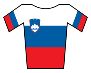Gerolsteiner (cycling team) - Image: Maillot Eslovenia