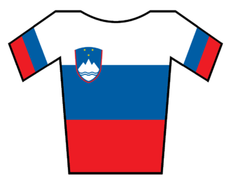 Phonak (cycling team) - Image: Maillot Eslovenia