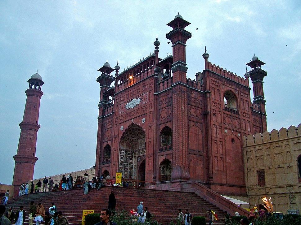 Main Entrance of Badshahi Mosque