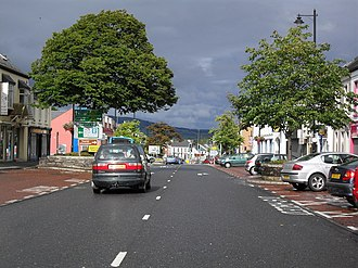Limavady - Image: Main Street, Limavady geograph.org.uk 1455684