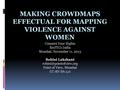 Making crowdmaps effectual for mapping violence against women.pdf