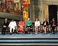 Malala Yousafzai and Kaliash Satyarthi at the Nobel Peace Prize ceremony.jpg