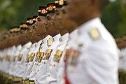 Malay honor guard for Robert Gates in Kuala Lumpur 2010-11-09 2