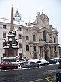 Malostranské náměstí, kostel svatého Mikuláše shora.jpg