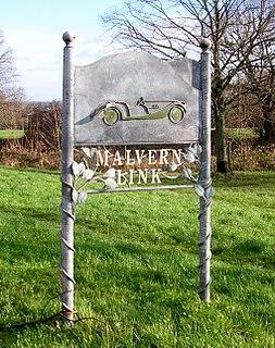 Malvern Link Human settlement in England