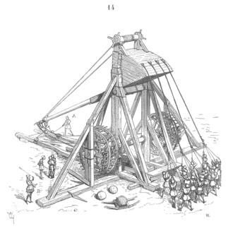 Mangonel - Medieval Mangonel