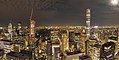 Manhattan at night north of Rockefeller Center panorama (11248p).jpg