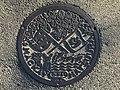 Manhole cover of Matsuura, Nagasaki 2.jpg