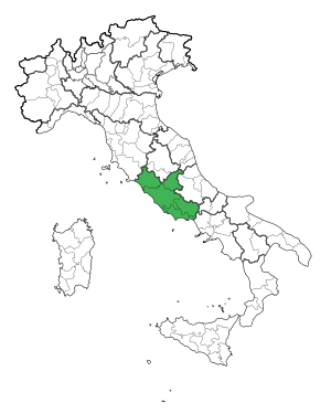 Map Region of Lazio.svg