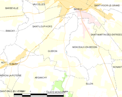 Map commune FR insee code 14322.png