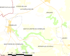 Map commune FR insee code 27605.png