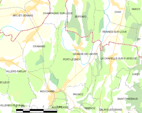 Map commune FR insee code 39439.png