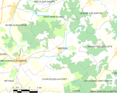 Map commune FR insee code 72195.png