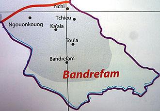 Bandrefam - Map of Bandrefam