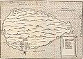 Map of Malta from Giovanni Antonio Viperani, De bello Militansi historia, Perusiae, Ex Officina Andreae Brixiani, 1567 (cropped).jpg