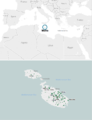 Map of Malta with locator.png