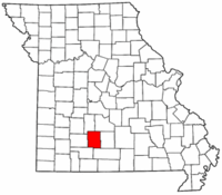 Map of Missouri highlighting Webster County.png