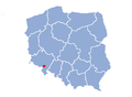 Map of Poland - Pieszyce.png
