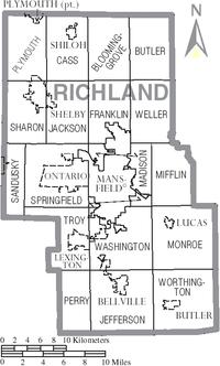 Richland County, Ohio - Wikipedia