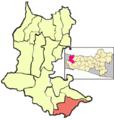 Map of paguyangan district brebes regency.png