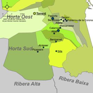 Horta Sud - Municipalities of Horta Sud